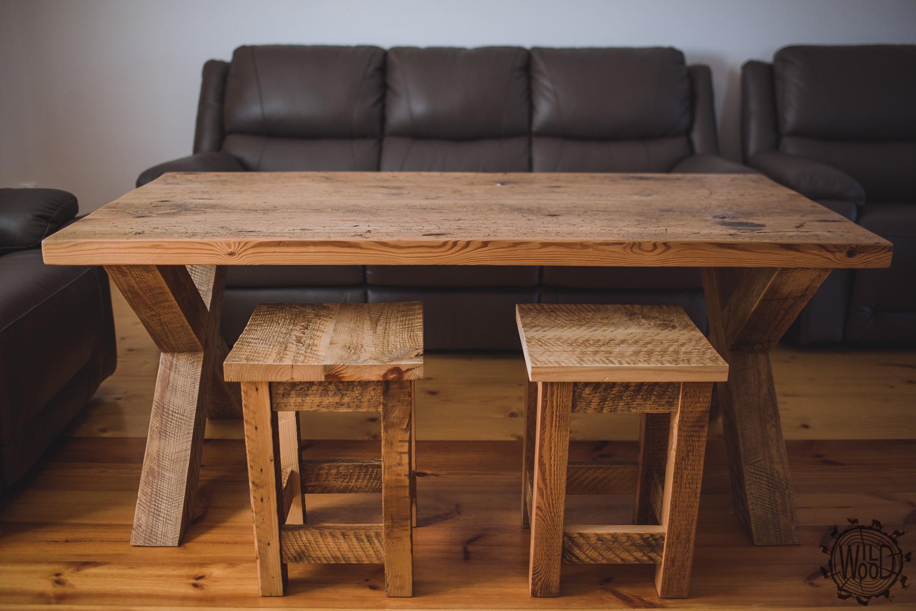 nietypowe meble podlaskie stolarz meble do salonu meble ze starego drewna